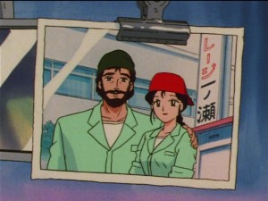 Sailor Moon SuperS episode 138 - Natsumi and her husband