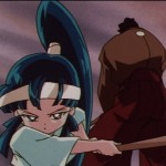 Sailor Moon SuperS episode 139 - Miharu defeats a swordsman