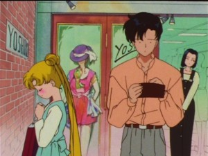 Sailor Moon SuperS episode 140 - Mamoru is broke