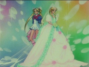 Sailor Moon SuperS episode 140 - A Sailor Moon inspired outfit and wedding dress