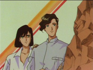 Sailor Moon SuperS episode 140 - Yoshiki Usui and his partner