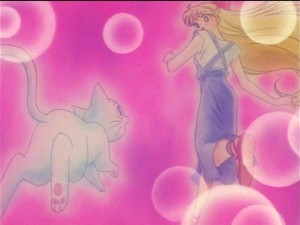 Sailor Moon SuperS episode 141 - Artemis and Minako