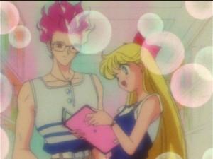 Sailor Moon SuperS episode 141 - Minako and Hawk's Eye