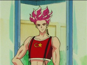Sailor Moon SuperS episode 142 - Hawk's Eye loves Turkey