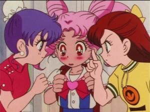 Sailor Moon SuperS episode 143 - Aki the Green Power Ranger