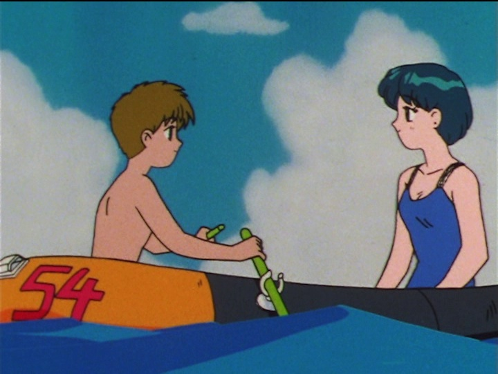 Sailor Moon SuperS episode 144 - Shingo and Ami