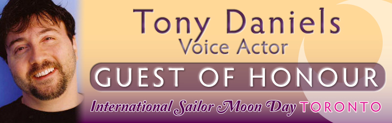 Tony Daniels, guest of honour at the Toronto Sailor Moon Celebration