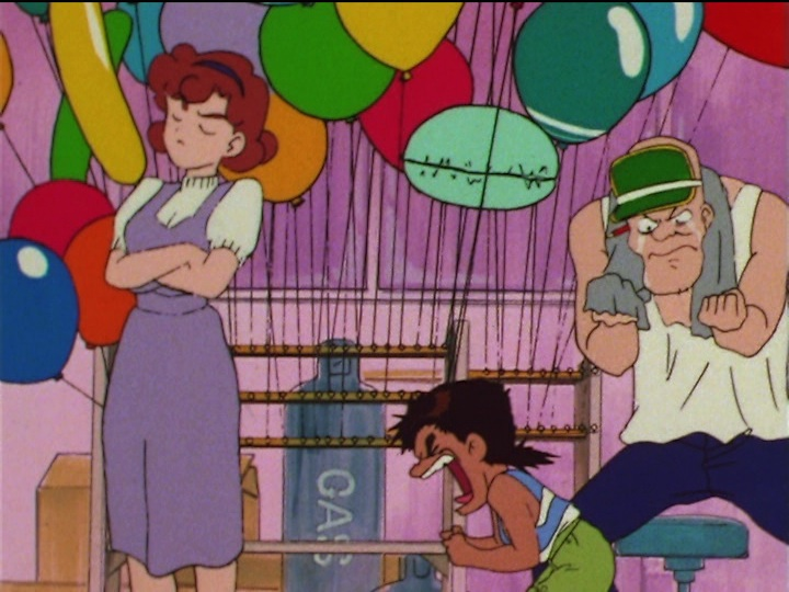 Sailor Moon SuperS episode 146 - Kid wants balloon