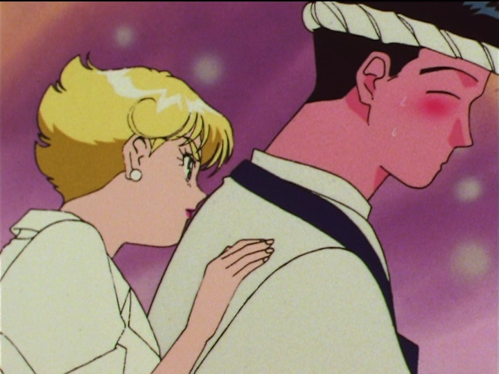 Sailor Moon SuperS episode 146 - Princess Ribuna hiding