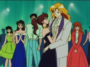 Sailor Moon SuperS episode 147 - Makoto and Tiger's Eye dancing