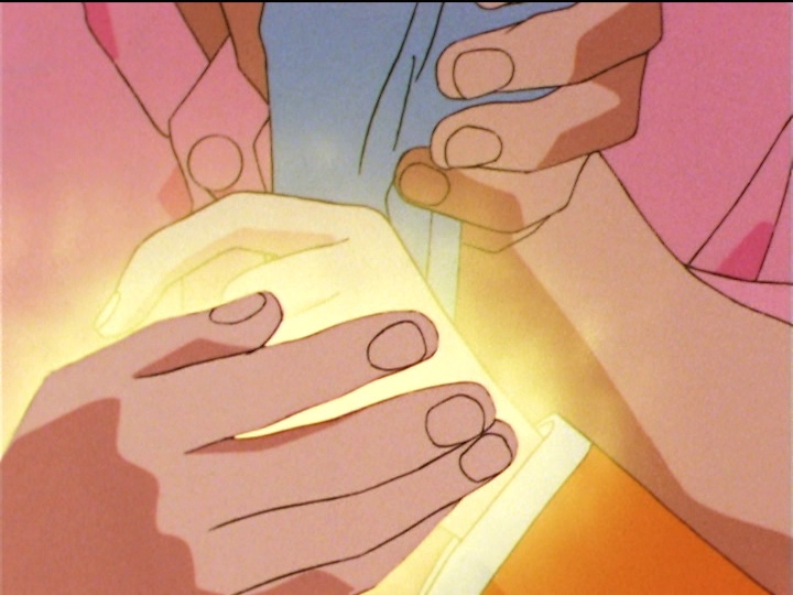 Sailor Moon SuperS episode 148 - Mamoru heals Fish Eye