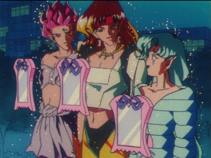 Sailor Moon SuperS episode 149 - The Amazon Trio with Mirrors of Dreams