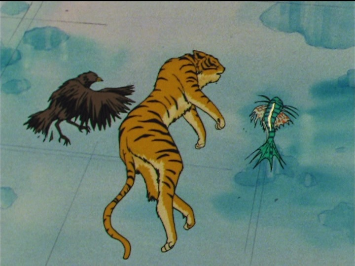 Sailor Moon SuperS episode 149 - Hawk's Eye the Hawk, Tiger's Eye the Tiger, Fish Eye the Fish