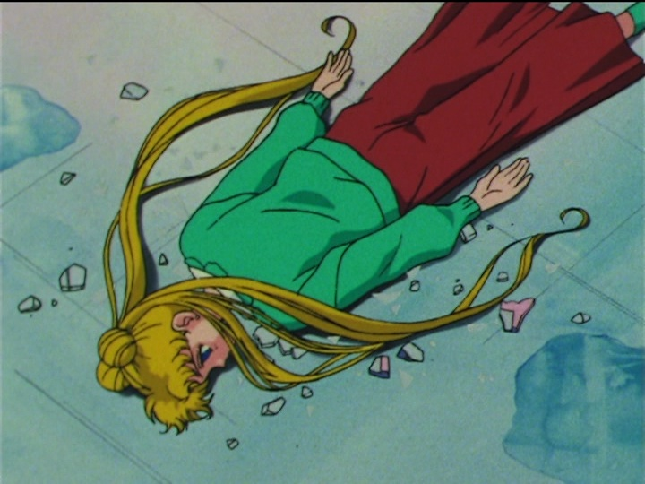 Sailor Moon SuperS episode 149 - Usagi without a mirror of dreams