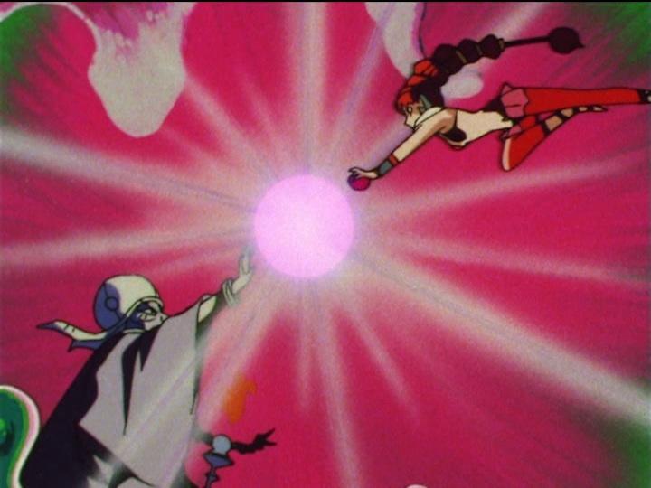Sailor Moon SuperS episode 150 - CereCere attacks Ziriconia