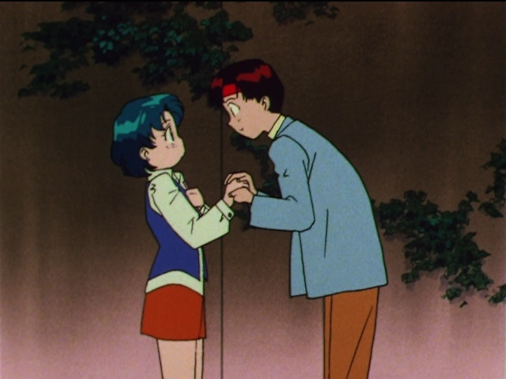 Sailor Moon SuperS episode 151 - Ami and N. T.