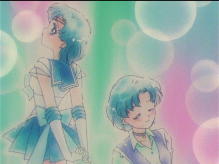 Sailor Moon SuperS episode 151 - Sailor Mercury and Ami