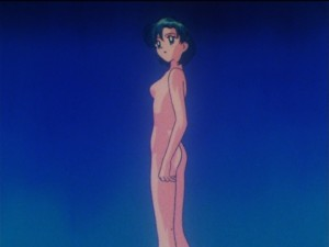 Sailor Moon SuperS episode 151 - Ami naked