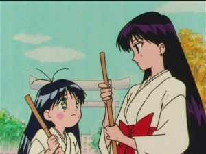 Sailor Moon SuperS episode 152 - Nanako and Rei