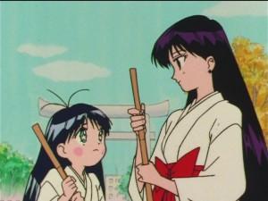 Sailor Moon SuperS episode 152 - Nanako and Rei