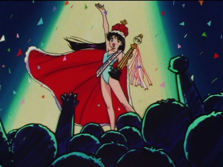 Sailor Moon SuperS episode 152 - Rei Hino's international success