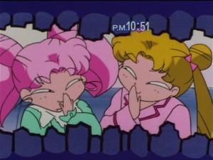 Sailor Moon SuperS episode 153 - Chibiusa and Usagi get cavities
