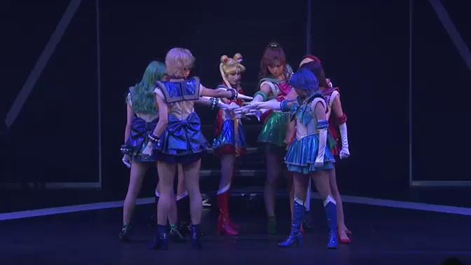 Sailor Moon Un Nouveau Voyage musical - The Sailor Guardians