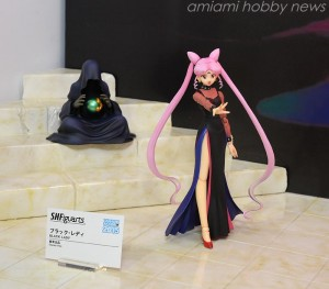 Black Lady S. H. Figuarts figure with Wise Man Figure at Tamashii Nation 2015 Event