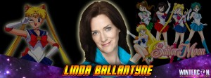 Linda Ballantyne, the voice of Sailor Moon, at Wintercon