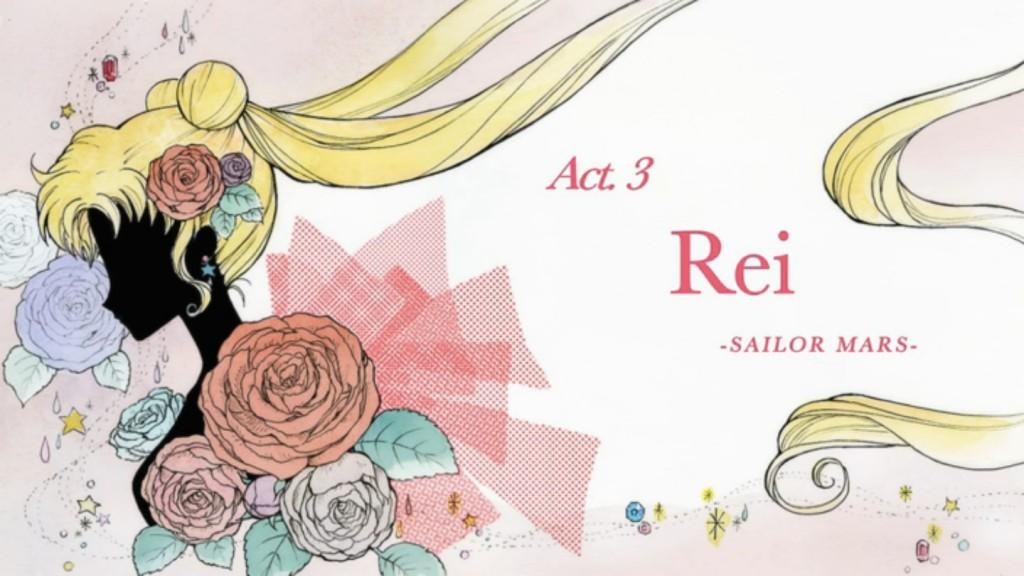 Sailor Moon Crystal Act 3, Rei - Sailor Mars