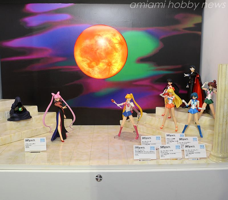 Sailor Moon S. H. Figuarts Figures at Tamashii Nation 2015 Event