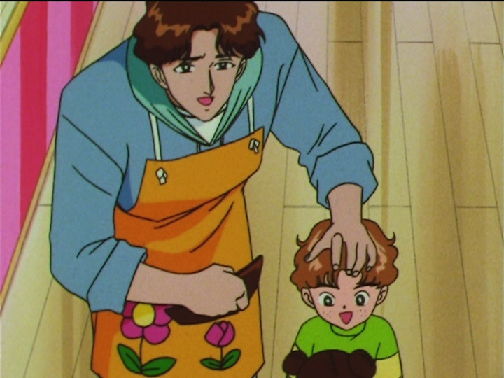 Sailor Moon SuperS episode 154 - Honjou and Kotarou