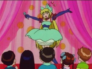 Sailor Moon SuperS episode 154 - Minako on stage