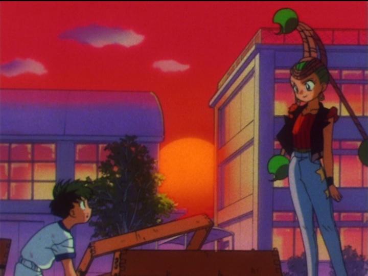Sailor Moon SuperS episode 155 - Kyuusuke and JunJun
