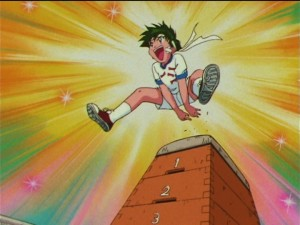 Sailor Moon SuperS episode 155 - Kyuusuke masters the Pommel Horse
