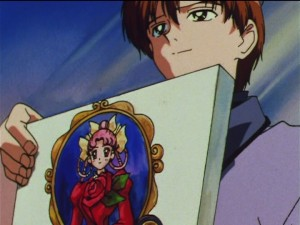 Sailor Moon SuperS episode 156 - Kamoi paints CereCere