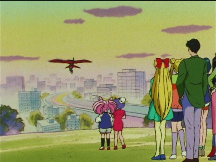 Sailor Moon SuperS episode 157 - The St. Louis flies