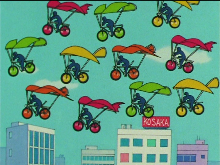 Sailor Moon SuperS episode 157 - Why bikes don't fly