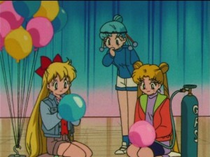 Sailor Moon SuperS episode 160 - Minako, PallaPalla and Usagi