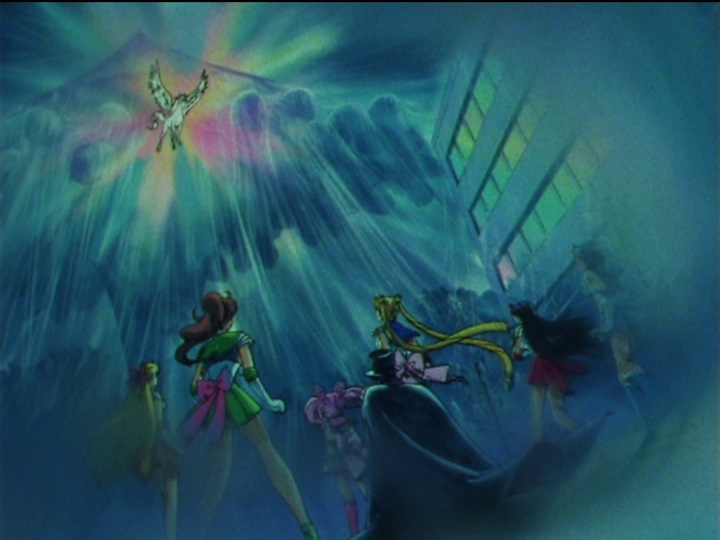 Sailor Moon SuperS episode 161 - Pegasus appears