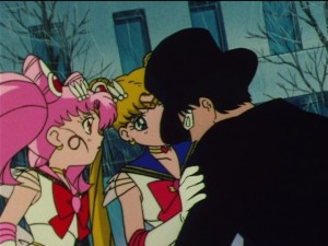 Sailor Moon SuperS episode 161 - Tuxedo Mask sick