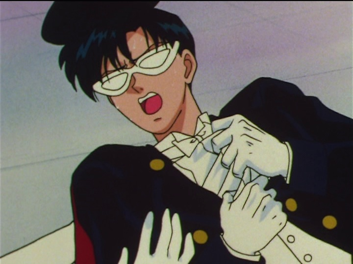 Sailor Moon SuperS episode 162 - Tuxedo Mask dying