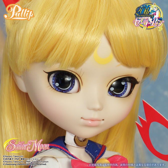 Sailor V Pullip Doll without a Mask