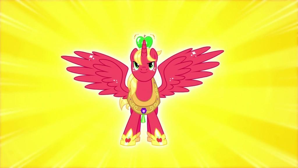My Little Pony Sailor Moon Reference - Big McIntosh transforms into Princess Big Mac