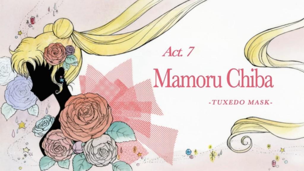 Sailor Moon Crystal Act 7 - Mamoru Chiba - Tuxedo Mask
