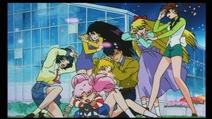 Sailor Moon R Movie - A hurricane of flower pedals