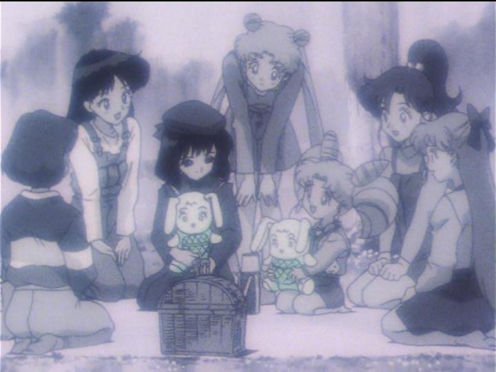 Sailor Moon Sailor Stars episode 168 - Hotaru remembers her friend Chibiusa