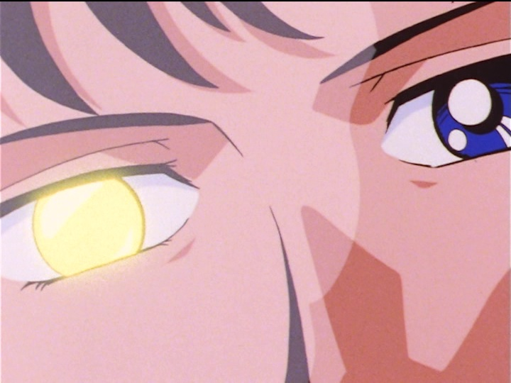 Sailor Moon Sailor Stars episode 168 - Mamoru has a thing in his eye
