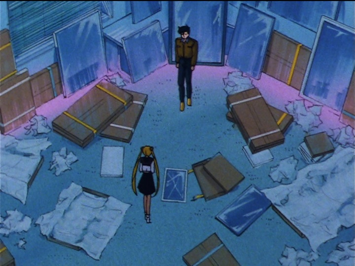 Sailor Moon Sailor Stars episode 169 - Mamoru loves mirrors
