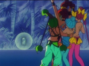 Sailor Moon SuperS episode 164 - The Amazoness Quartet meet Nehelenia